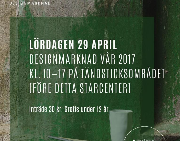 Designmarknad i Jönköping.