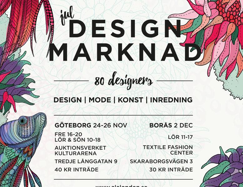 á la London Jul Design Marknad.